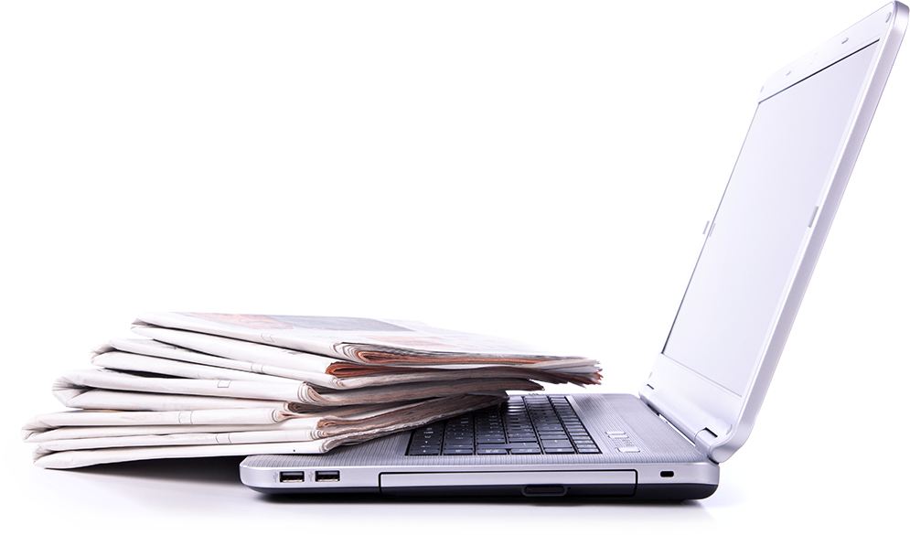 Laptop Zeitung