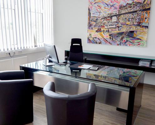 Schreibtisch Pixelproduction