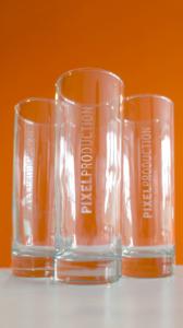 Pixelproduction Gläser