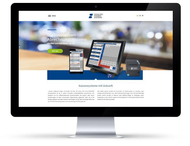 Internetseite Kassenhersteller