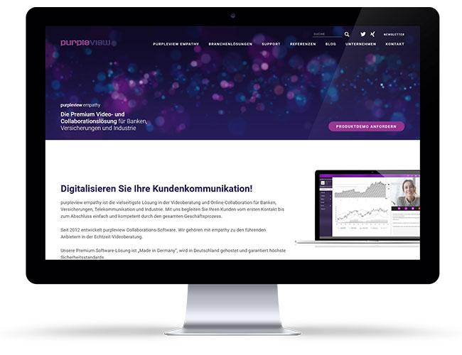 Internetseite Telekommunikation