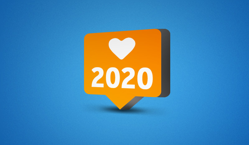 2020 in Like-Button