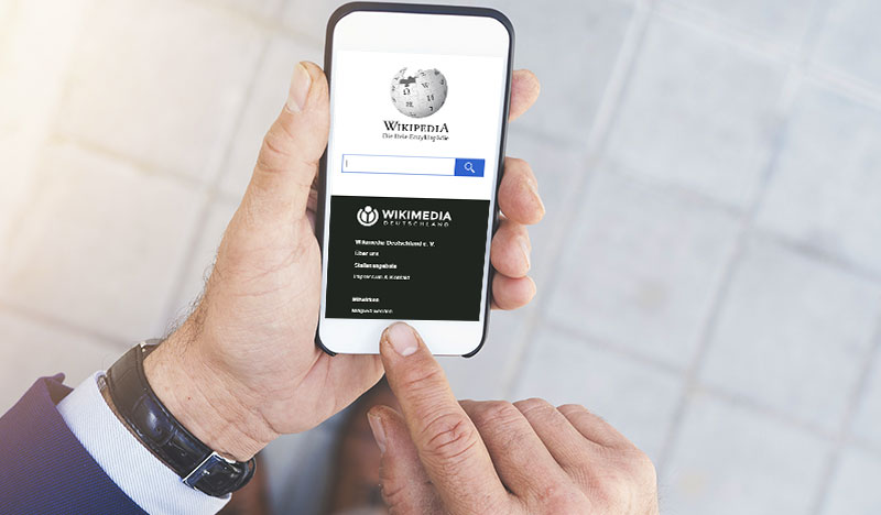 Wikipedia-Eintrag für Unternehmen Thumbnail